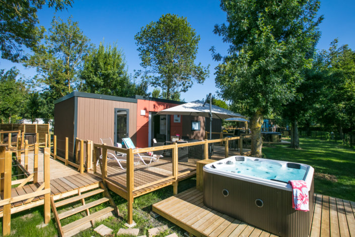 rental luxury cottage saumur